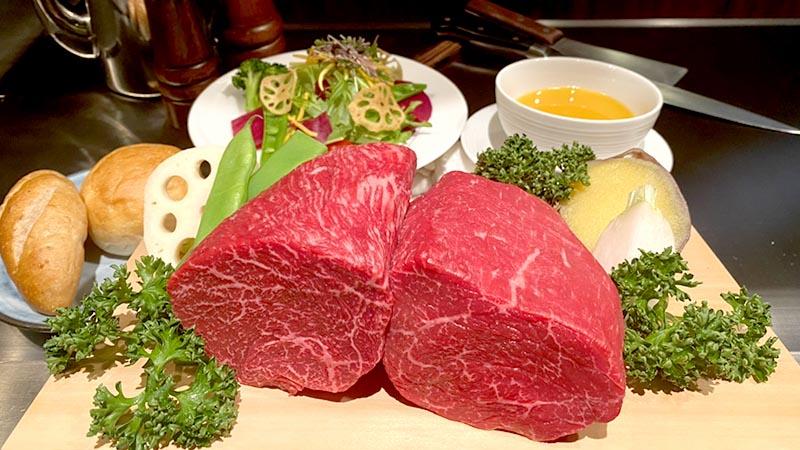 神戶牛臀肉牛排/神戶牛內內腿肉牛排