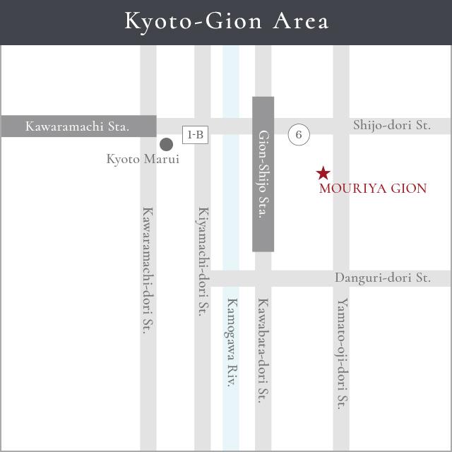 Kyoto-Gion Area