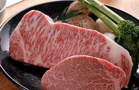 神戸牛の魅力を引き出す鮮やかで美しい「サシ」
